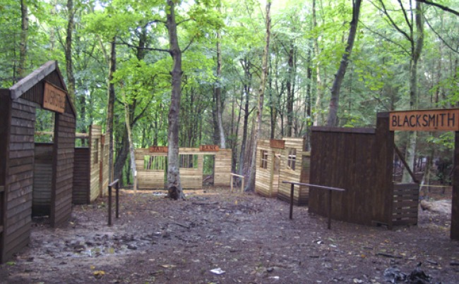 Paintball Bunker Ideas Paintball in Woods Ideas